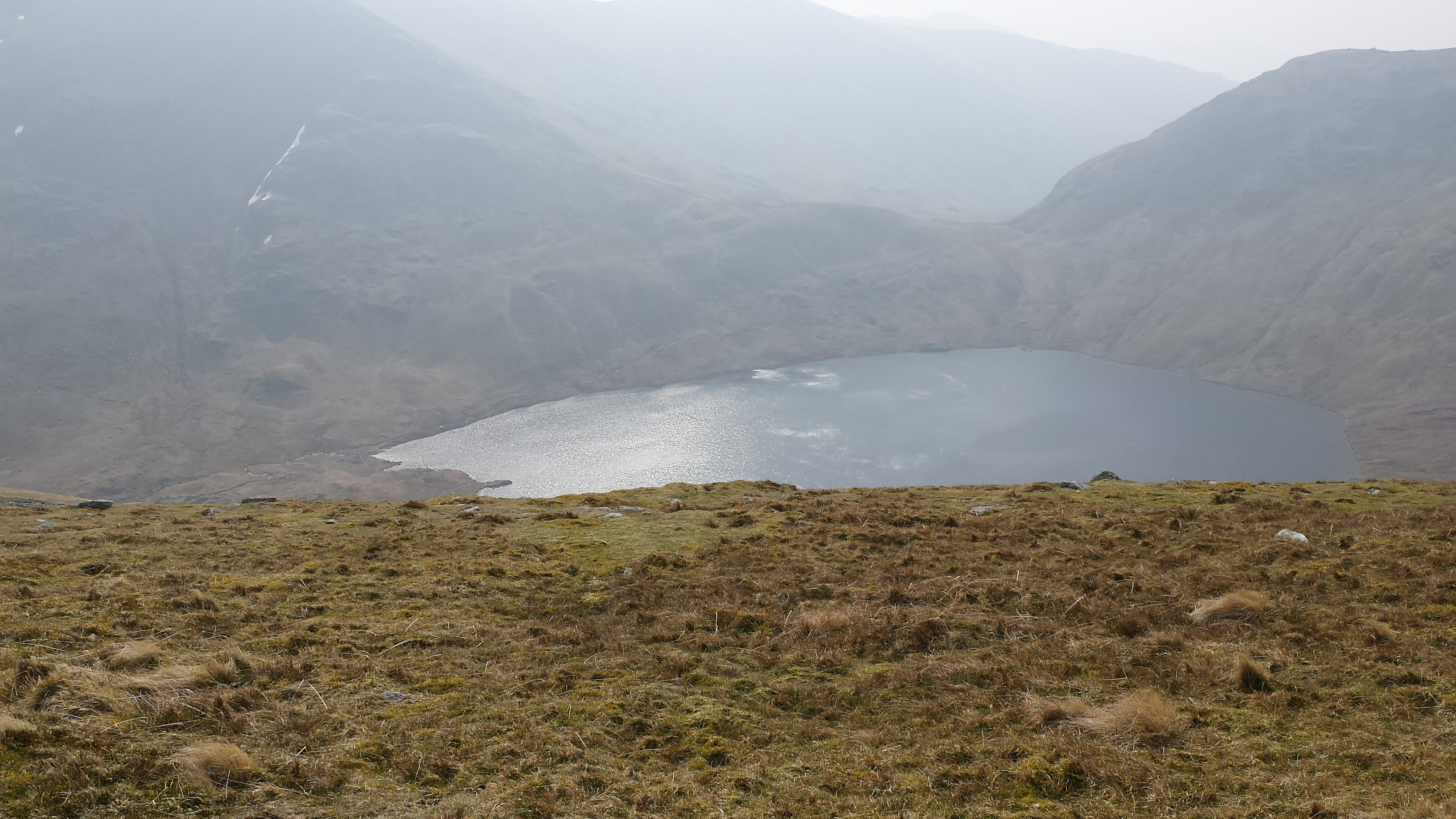 Grizedale Tarn from Dollywaggon