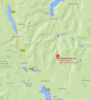Map - the Kirkstone Pass