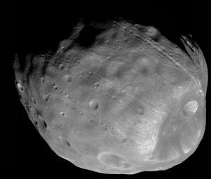 Phobos, NASA/JPL