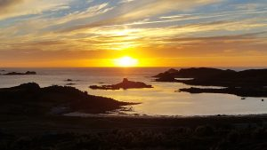 Sunset from Bryher