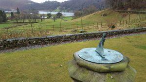 Sundial, Allan Bank, Grasmere, Cumbria
