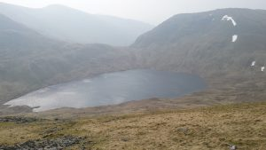 Grisedale Tarn from Dolly Wagon