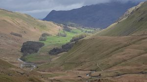 Looking down Grisedale towards Patterdale