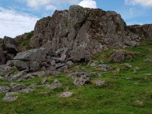 "Rocky outcrop above Boot (""the altar"")"