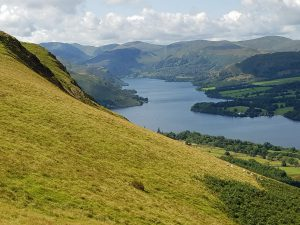 Ullswater, looking roughly south-west towards Helvellyn