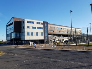 University of Cumbria at Barrow - where I took the course