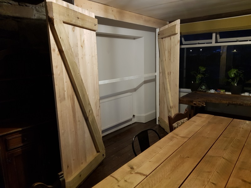 Midway - doors now fitted