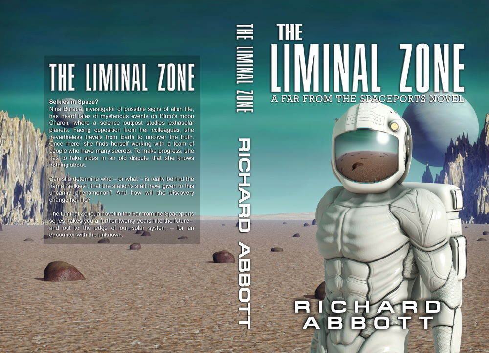 The Liminal Zone Paperback Cover
